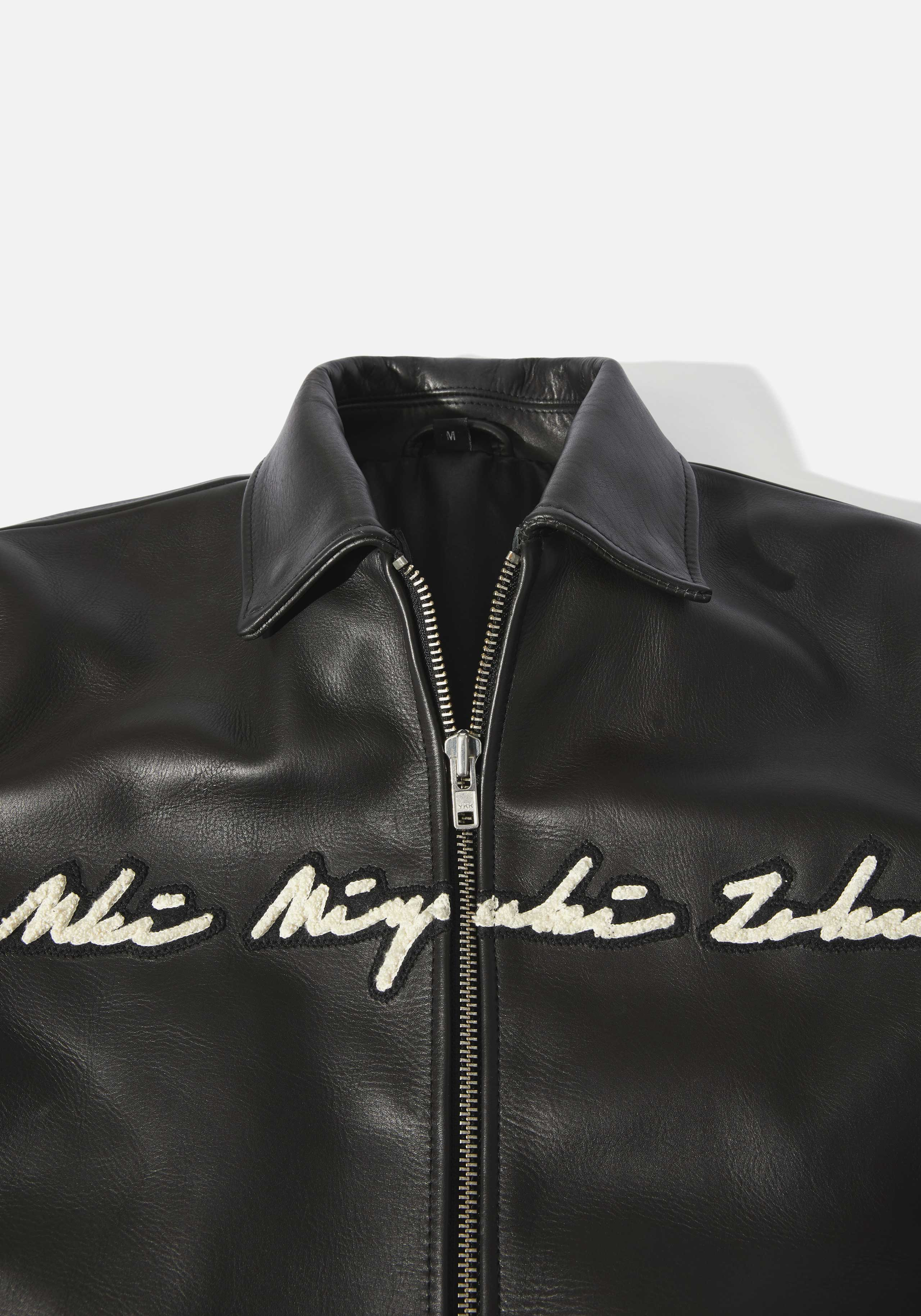 mki full leather rider varsity 3