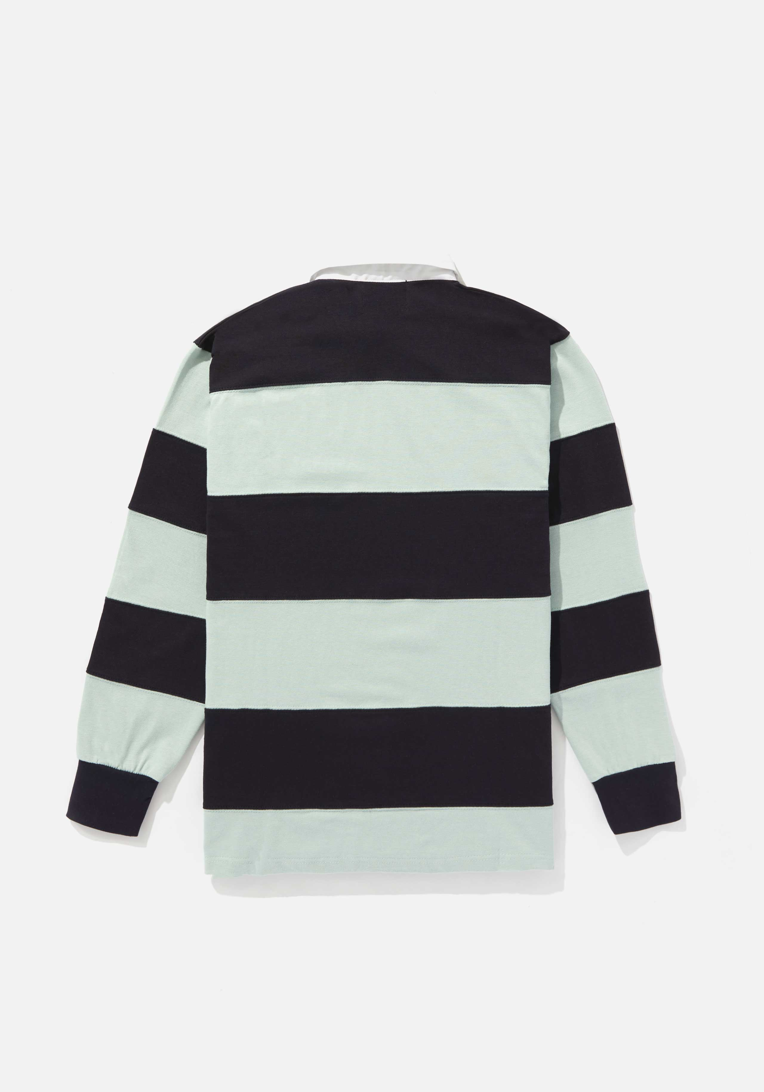 mki multi stripe rugby shirt 2