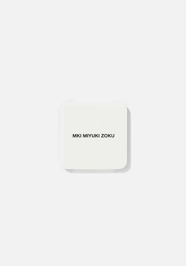 mki metal logo coaster