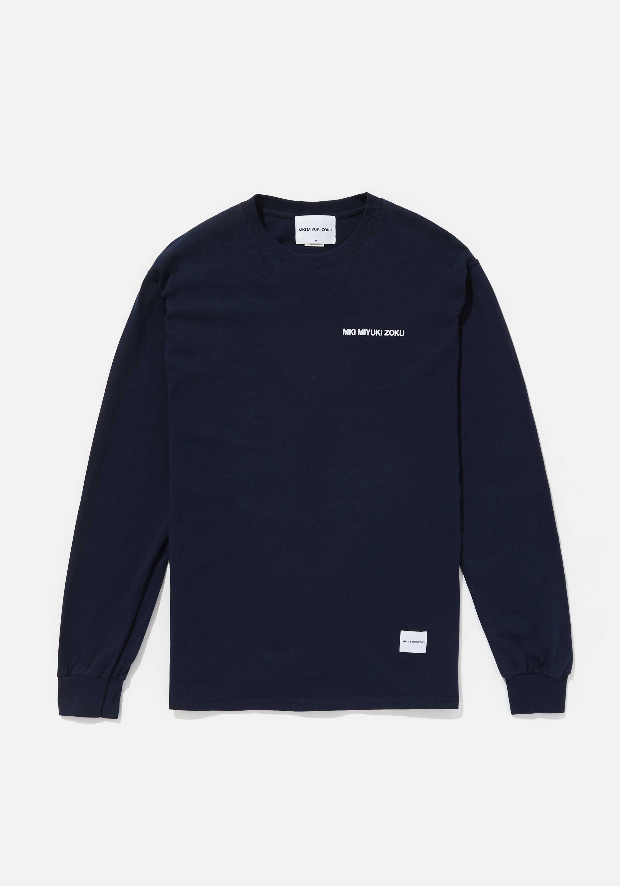MKI CHEST EMB. LONG SLEEVE 1
