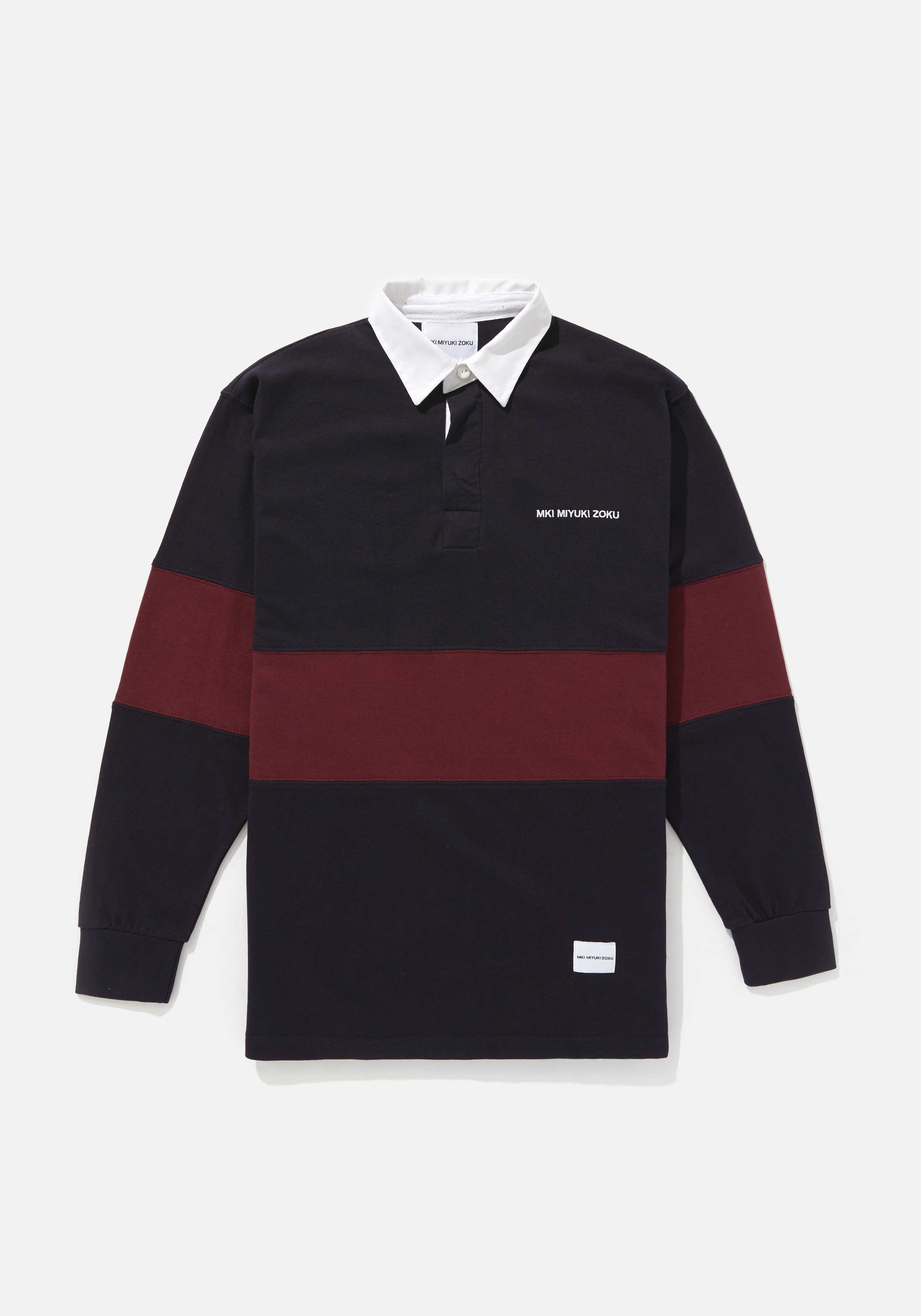 mki single stripe rugby shirt 1