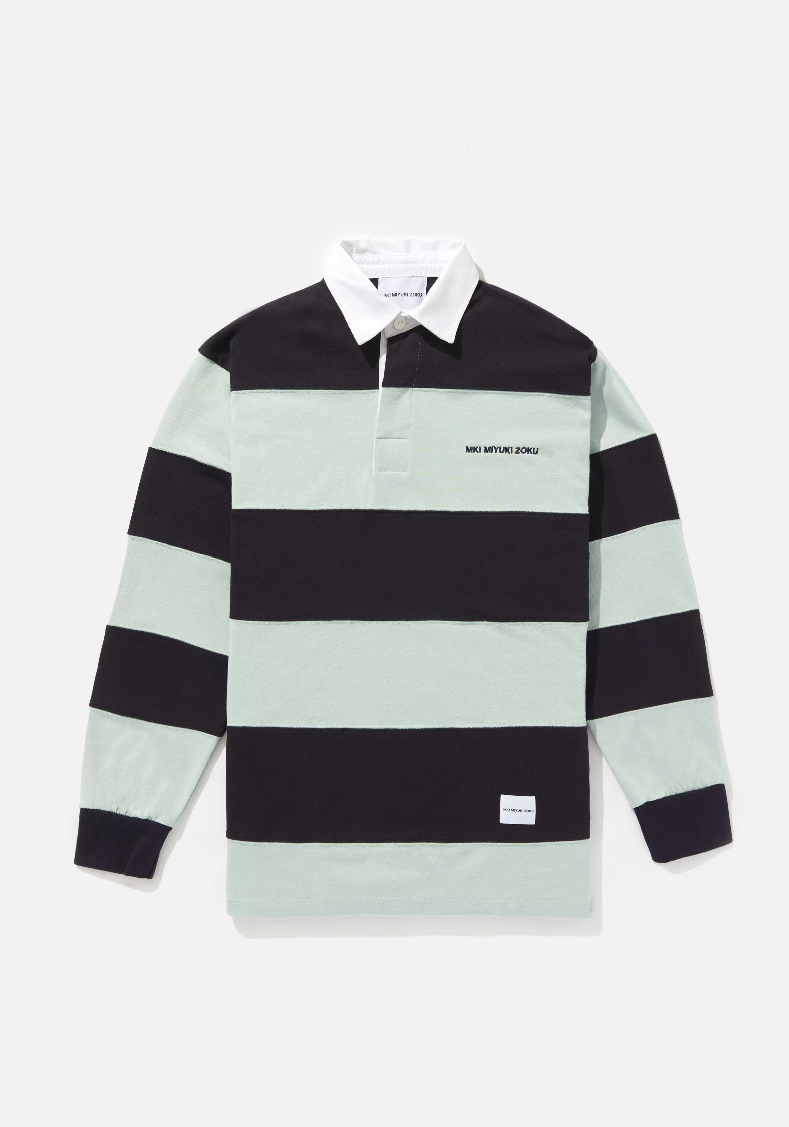 mki multi stripe rugby shirt 1