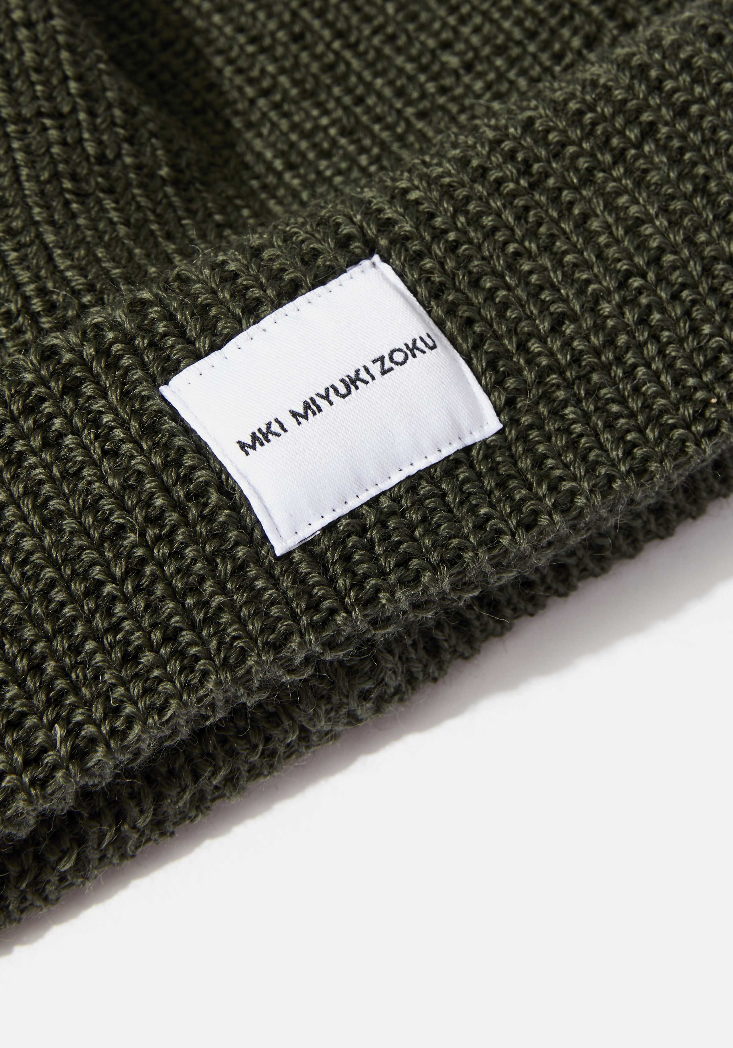 mki virgin wool watch cap short body 3