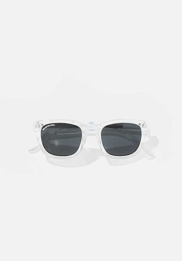 mki moulded clear sunglasses